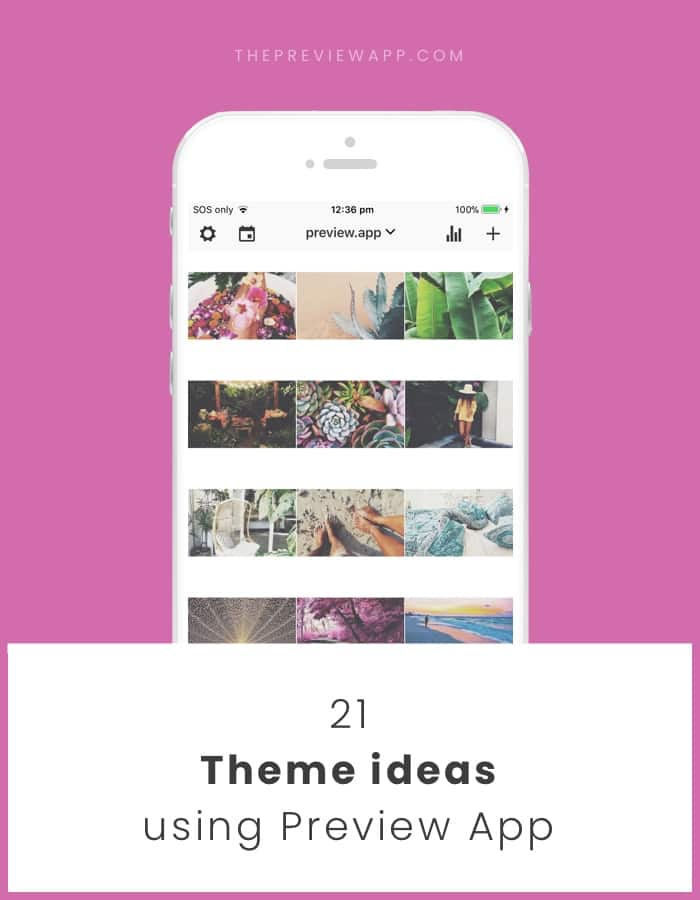 Instagram theme ideas for your feed
