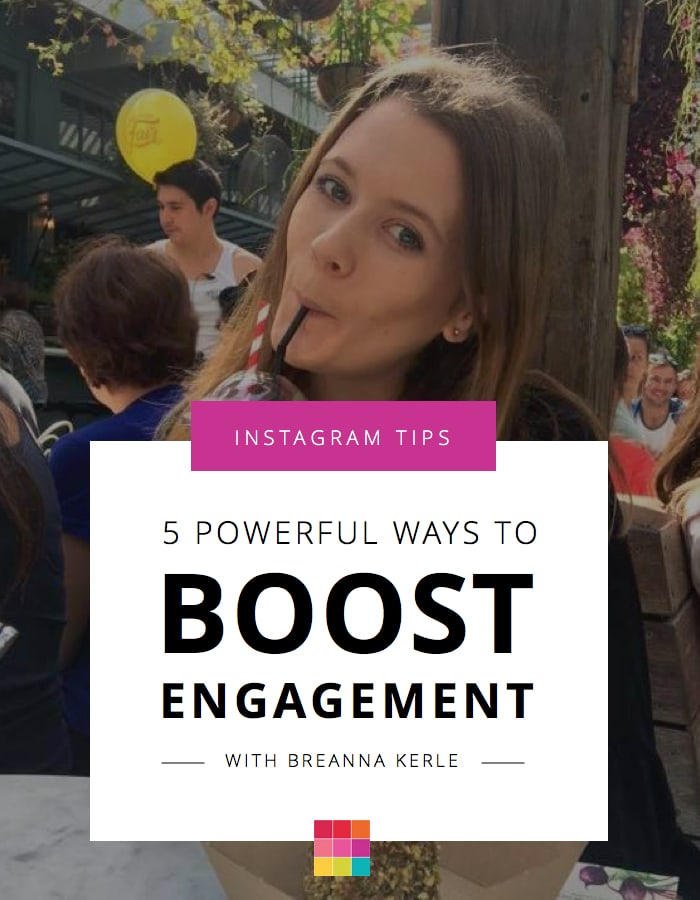5 ways to increase real engagement Instagram, beyond just desining the perfect Instagram feed.