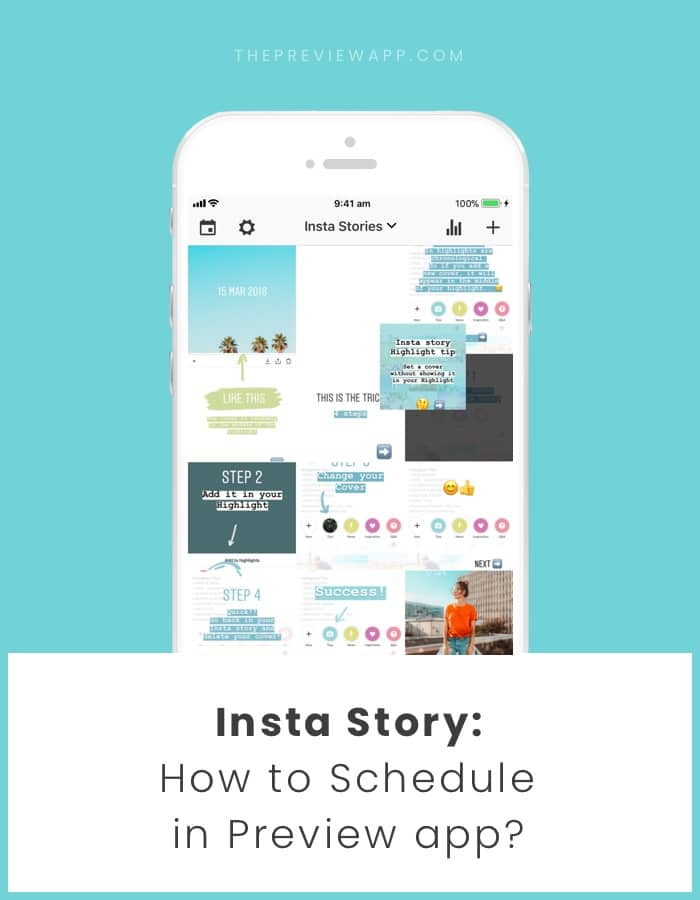 How to Schedule Insta Stories using Preview app