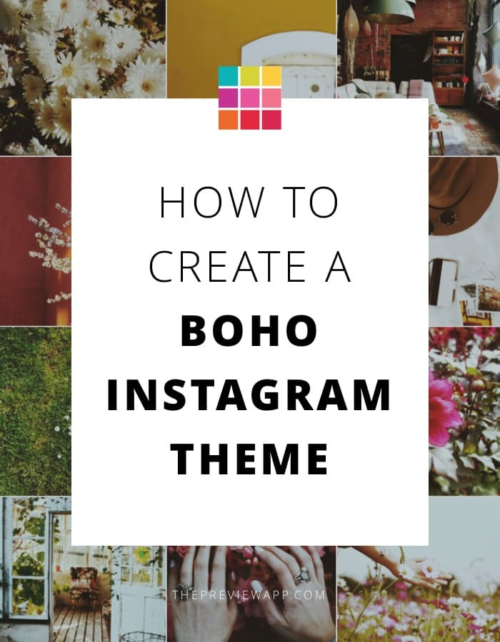Boho Instagram Theme