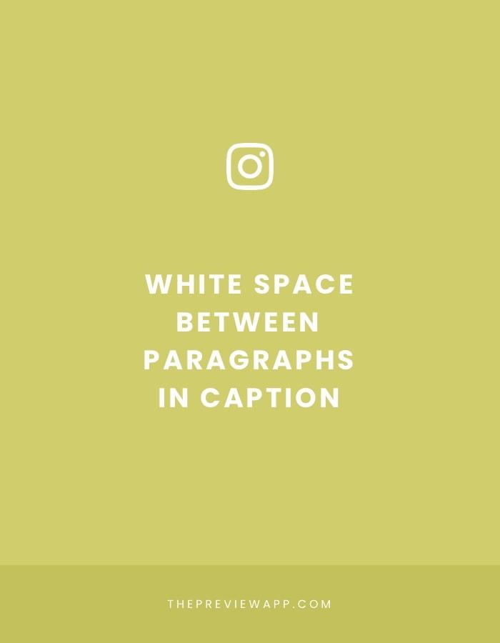 How to add line break in Instagram caption