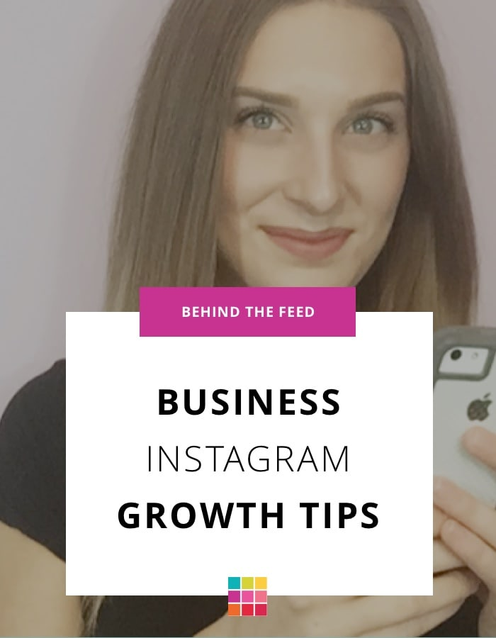 Instagram tips for business with Ashley Perkins
