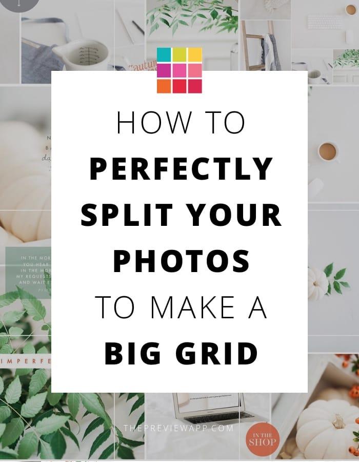 Split Instagram grid photos by Jana Bishop from @twigyposts
