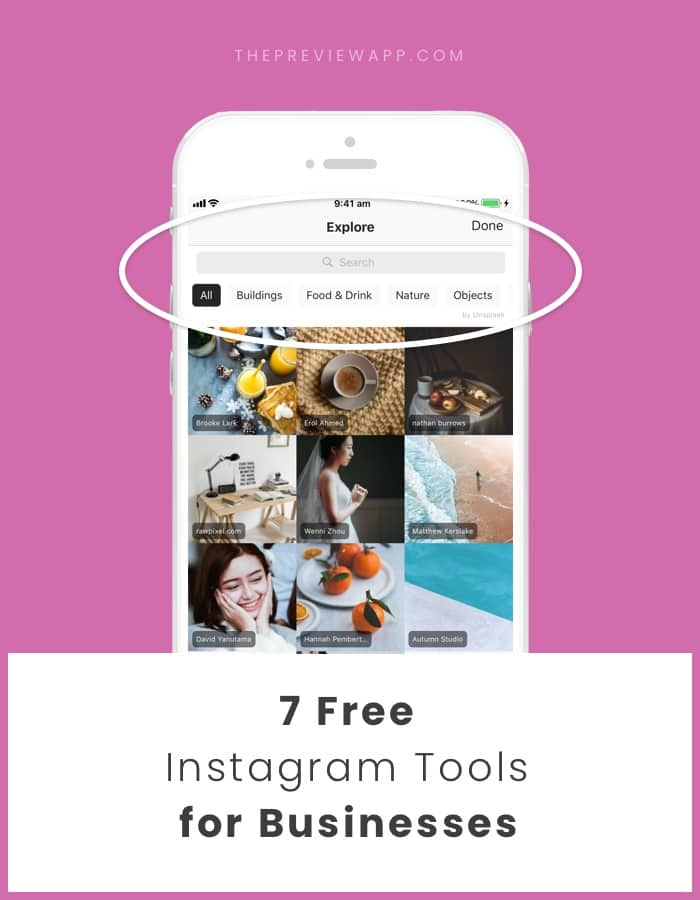 Free Instagram Tools for Businesses 2018