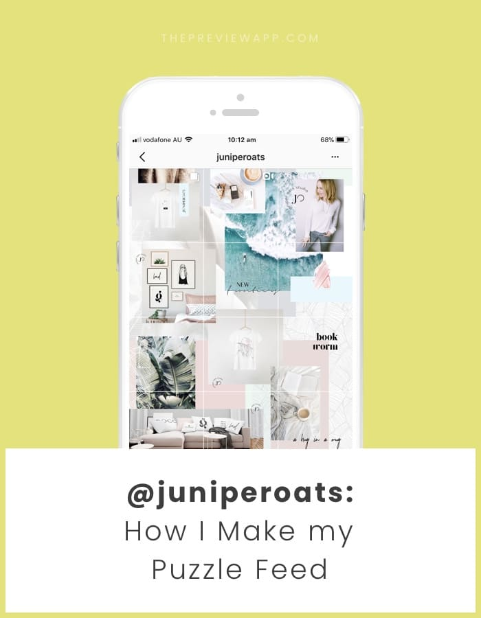 How to make a beautiful Instagram grid feed?