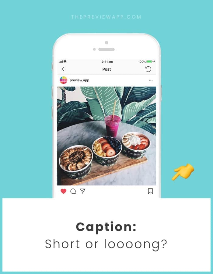 Short or long Instagram caption? Which one is better?
