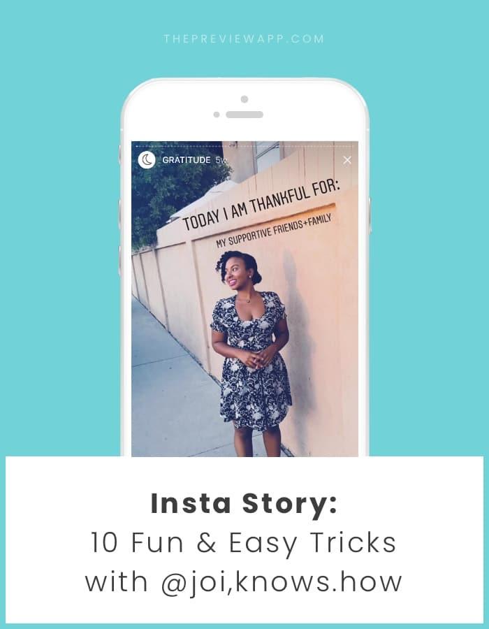 Easy Insta Story Tricks
