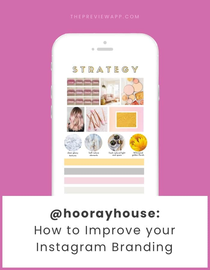Instagram branding strategy