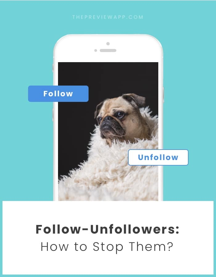 How to stop follow unfollowers on Instagram?