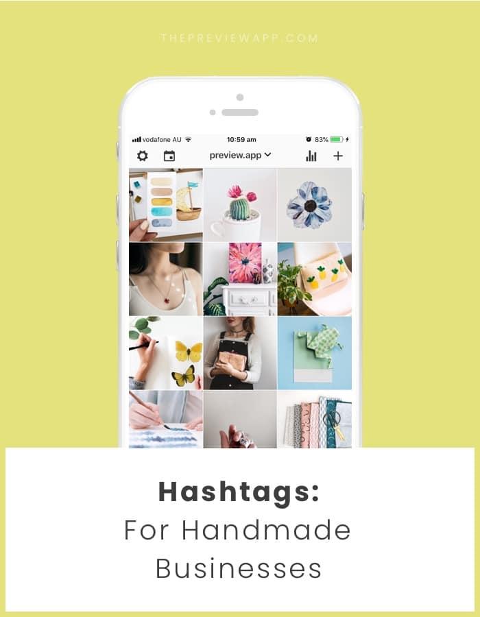 Best Instagram hashtags for handmade business