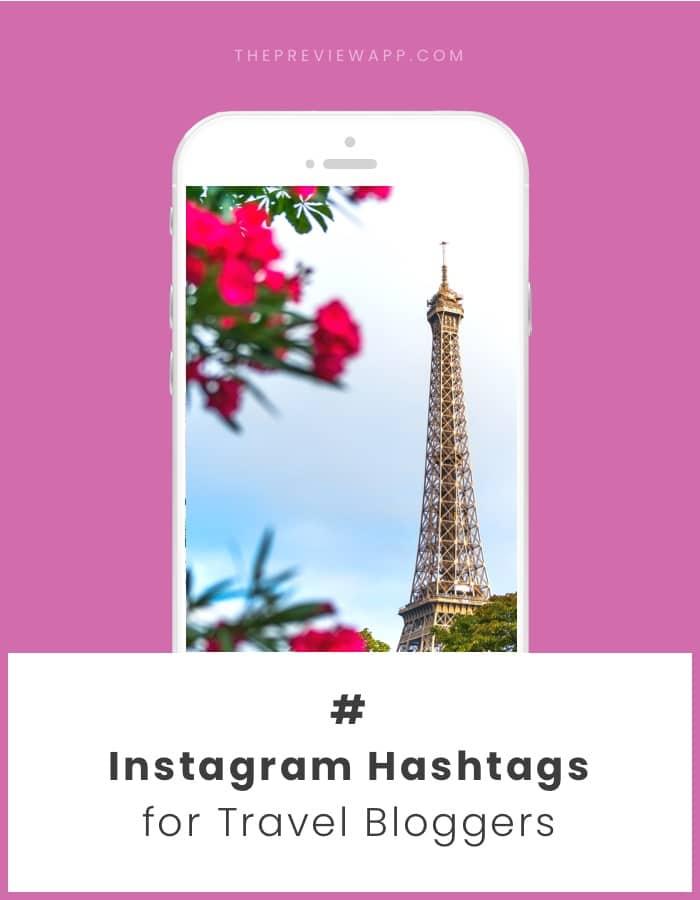 Best Instagram hashtags for travel bloggers