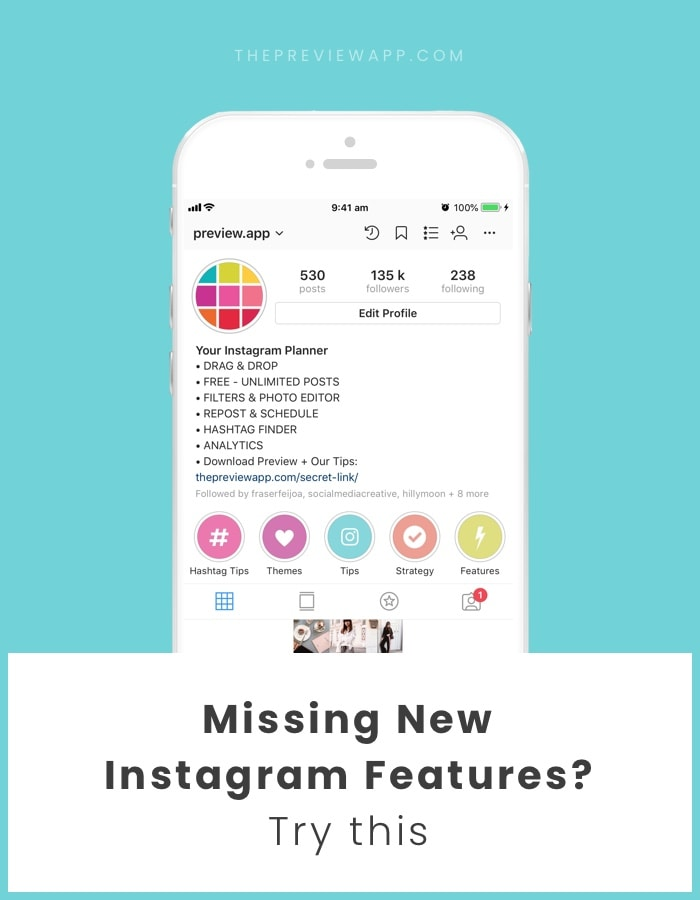 How to get new Instagram features on your Account?