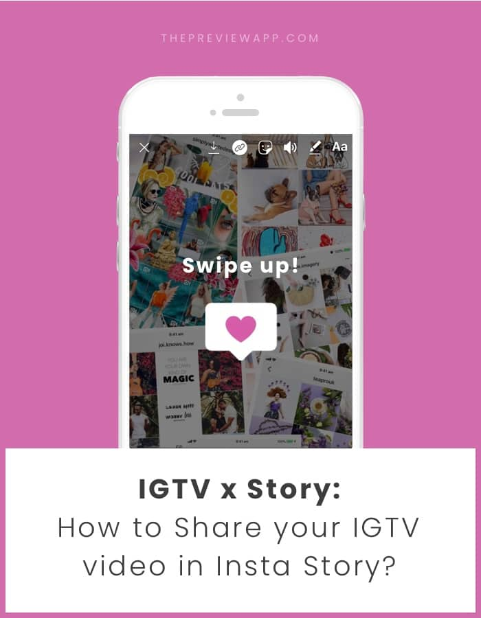 How to share IGTV video in your Insta Story?