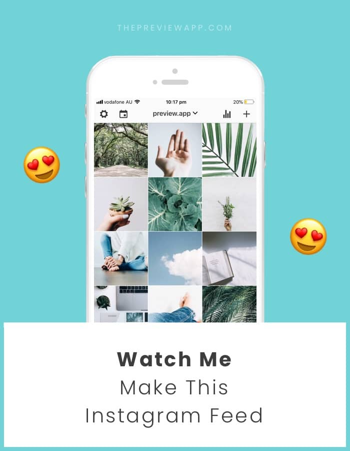 Natural Instagram theme idea