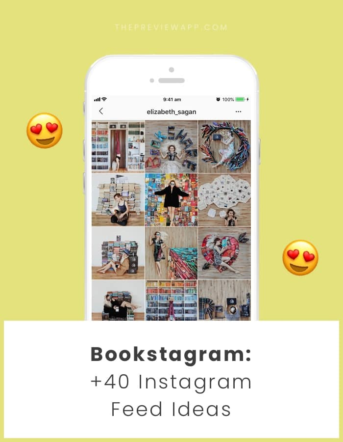 Instagram feed ideas for book accounts