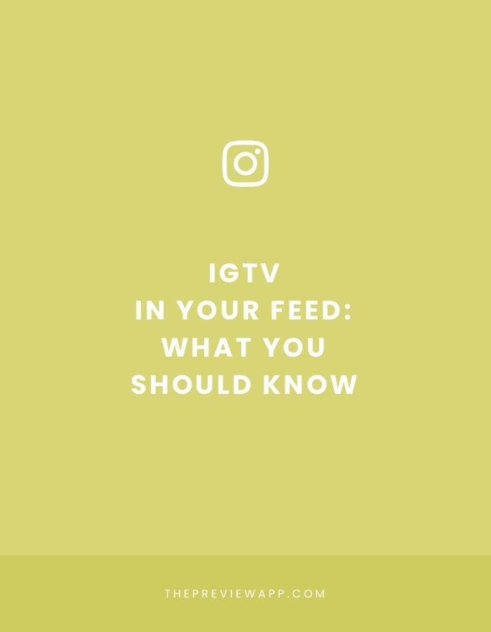 IGTV video in Instagram feed: 7 tips