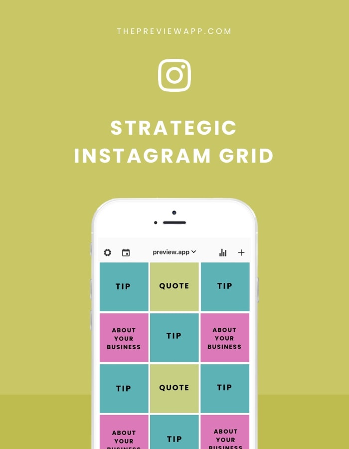 How to use your Instagram Grid Strategically