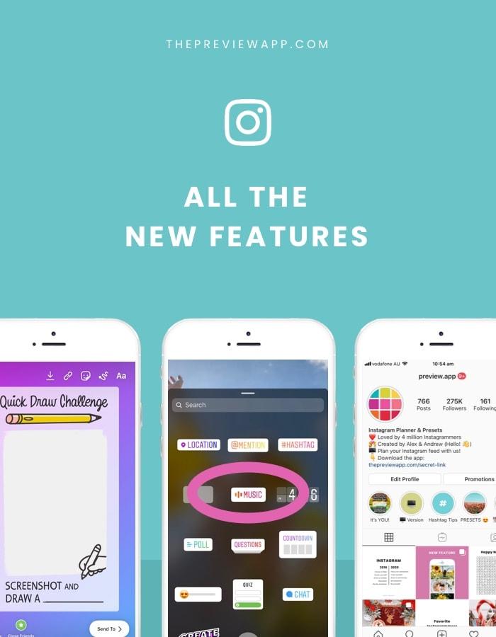 New Instagram Features: All the Instagram Updates