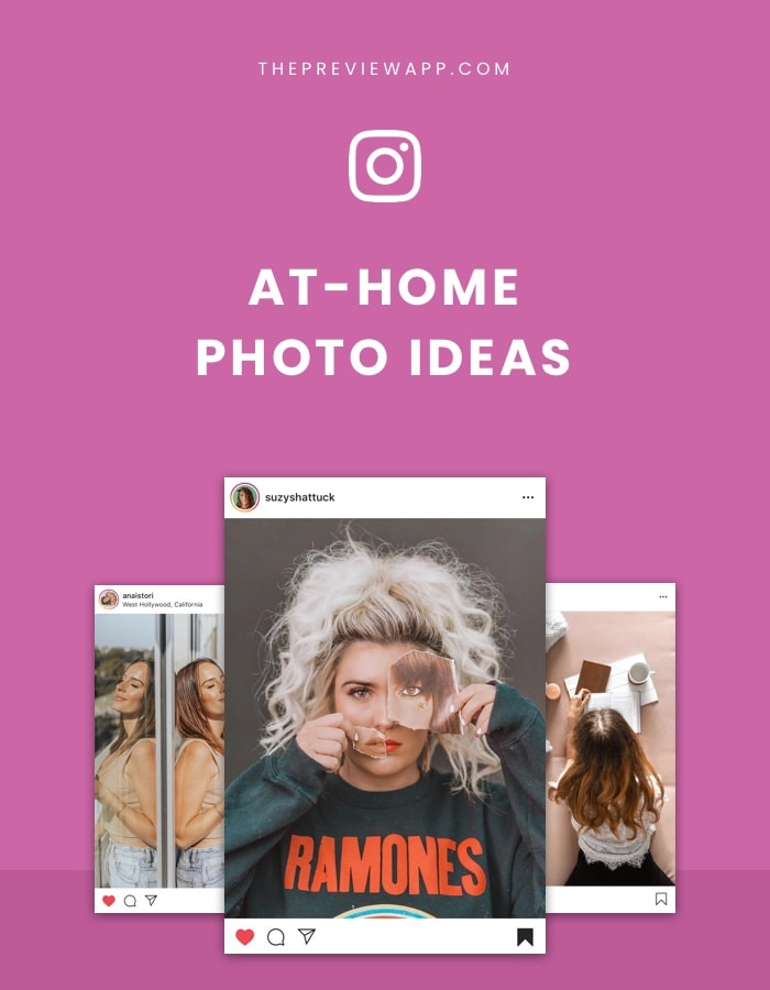 AMAZING Instagram photo ideas at home