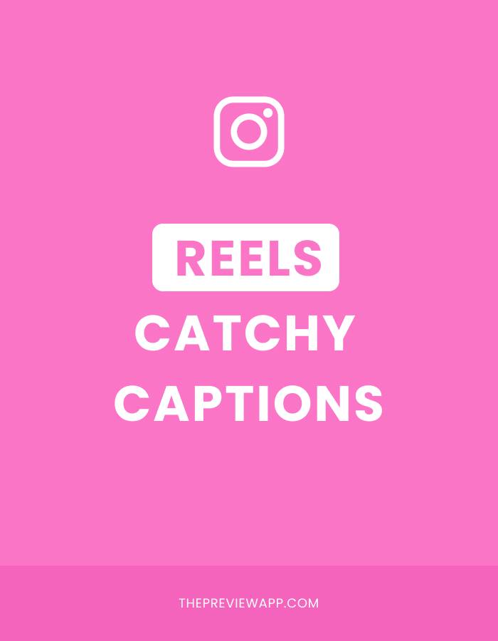 Instagram reels caption