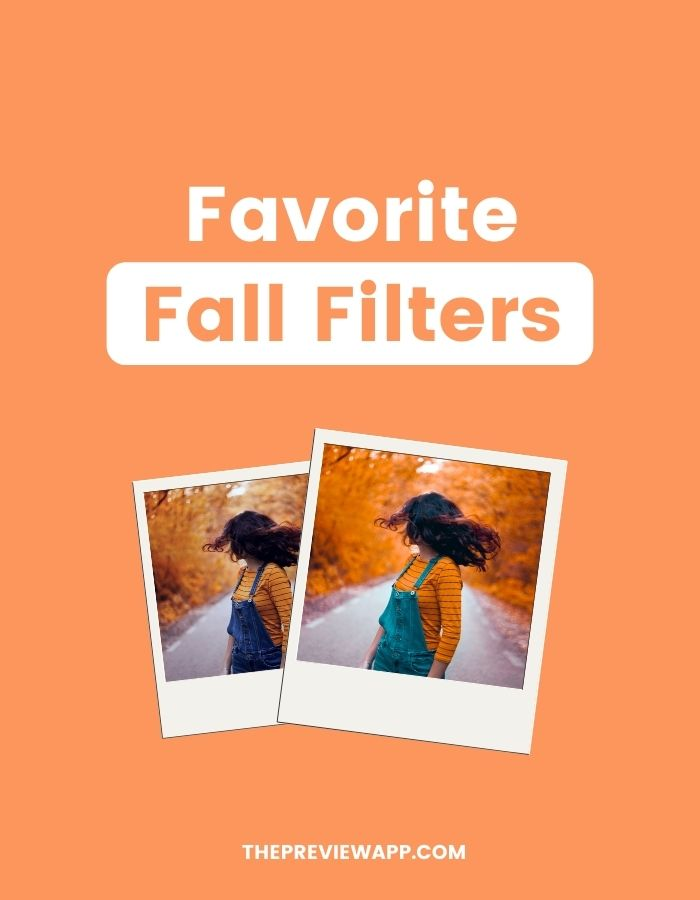 fall filters for instagram