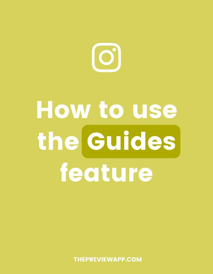 How to use Instagram Guides feature? The tutorial