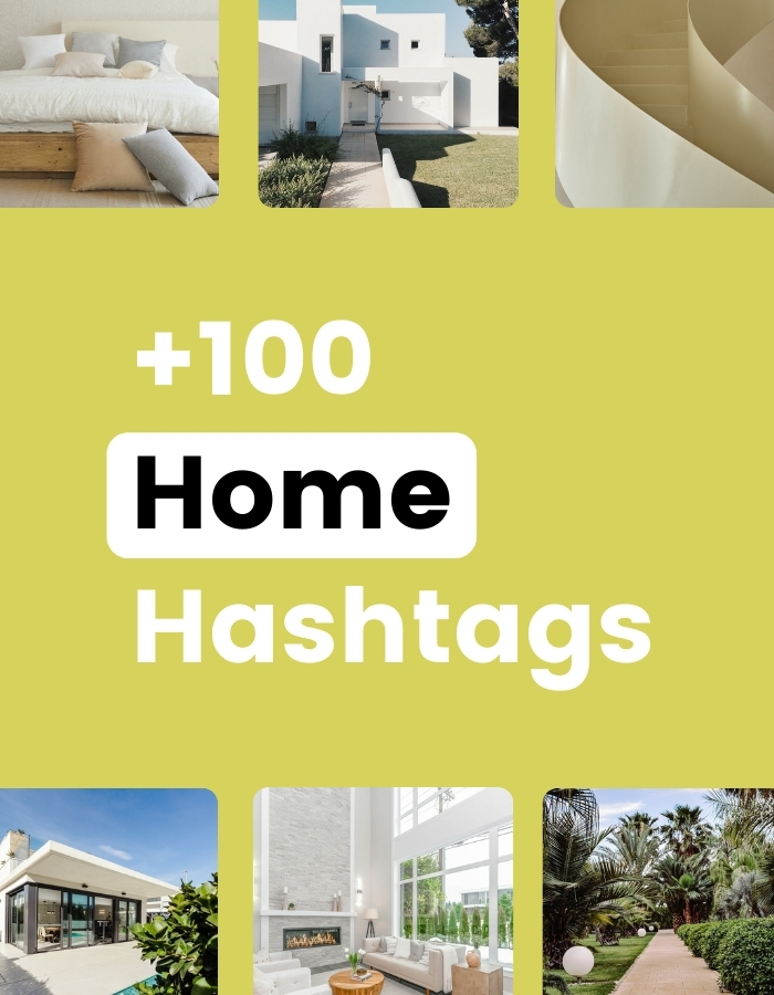 Home decor instagram hashtags in Preview app