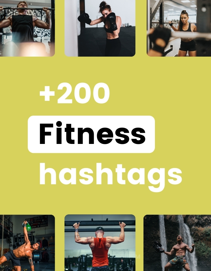 Best Instagram Hashtags for Fitness in Preview app