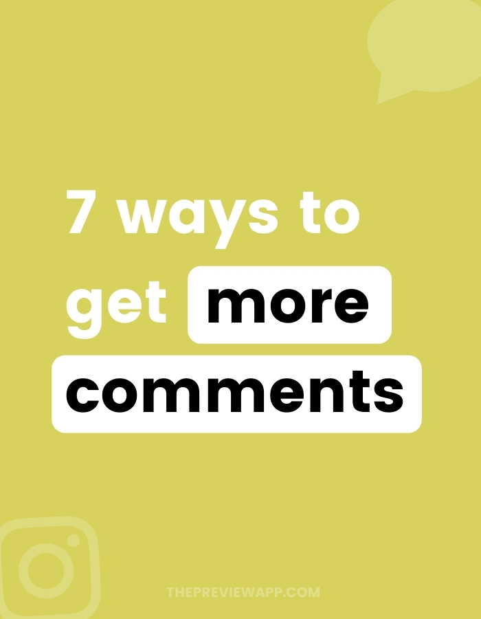 How to get more comments on Instagram with these 7 tricks