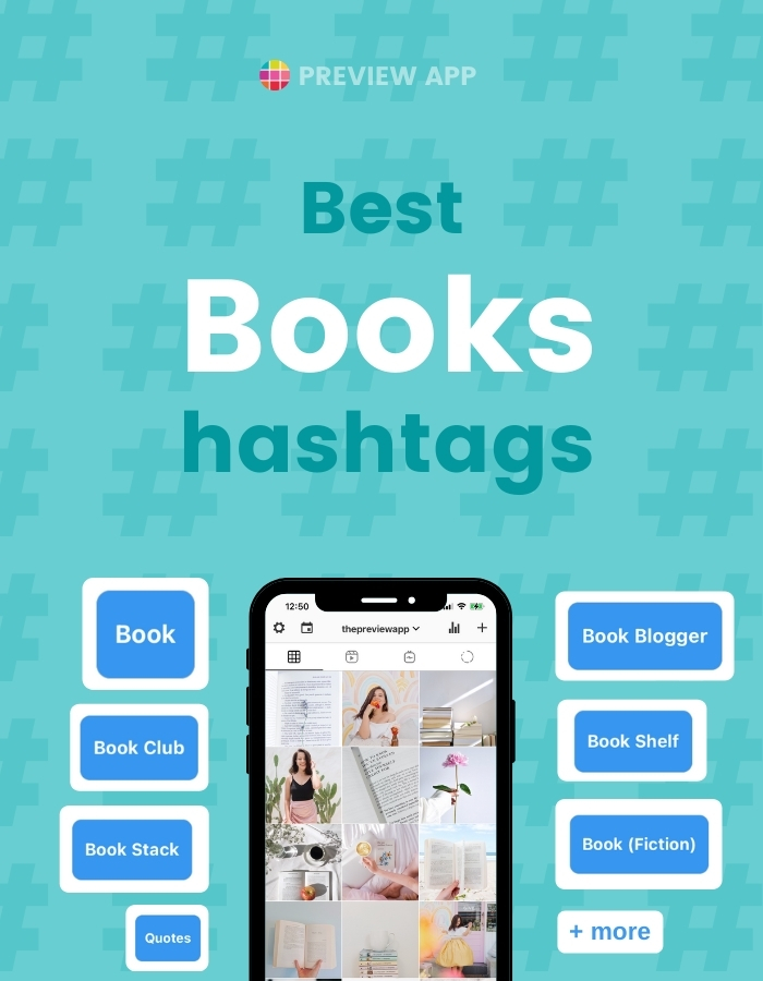 Best Instagram Hashtags for Books, Bookstagrammers, Book Bloggers and Bookm Lovers