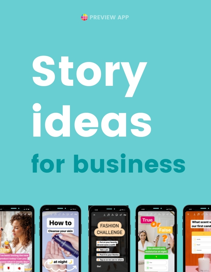 Instagram Story ideas for Business and Small Business